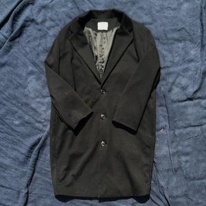 Other - Korean black men's Long coat size Small